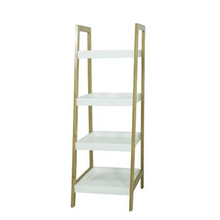 4 Tier Bamboo Standard Bookcase