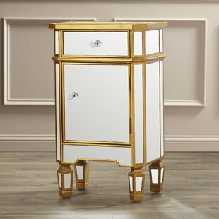 Willa Arlo Interiors Lorenzo 1 Drawer Accent Cabinet