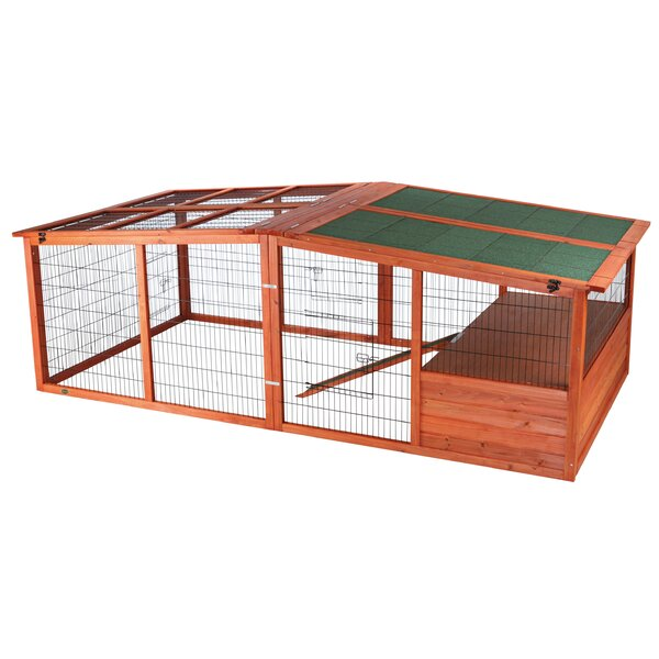 Archie & Oscar Freddy Extra Large Outdoor Run with Mesh Cover ...