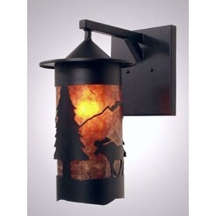 Steel Partners Moose 1-Light Outdoor Wall Lantern