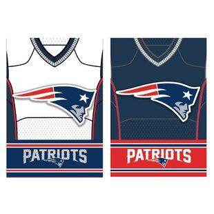 afb33da913d1ee NFL DS Suede Foil Regular Jersey Polyester 3 7 x 2 5 ft. Banner (Set of 2)
