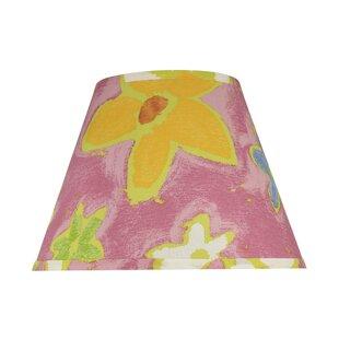 Transitional Hardback 13 Fabric Empire Flowers Lamp Shade