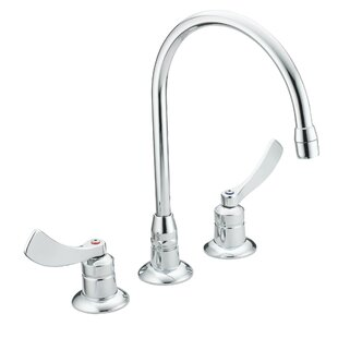 Moen M-Dura Widespread Bathroom Faucet