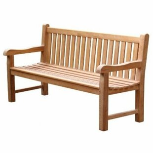 Peckler Teak Traditional Bench By Sol 72 Outdoor