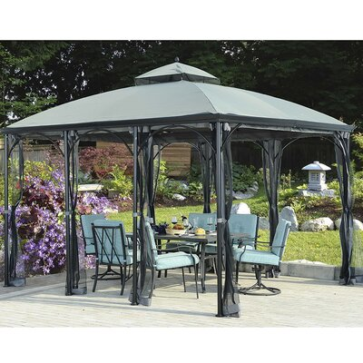 Sunjoy Somerset Gazebo Screen