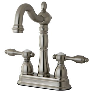 Kingston Brass Tudor Double Handle Kitchen Faucet
