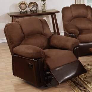 Ethan Leather Manual Rocker Recliner