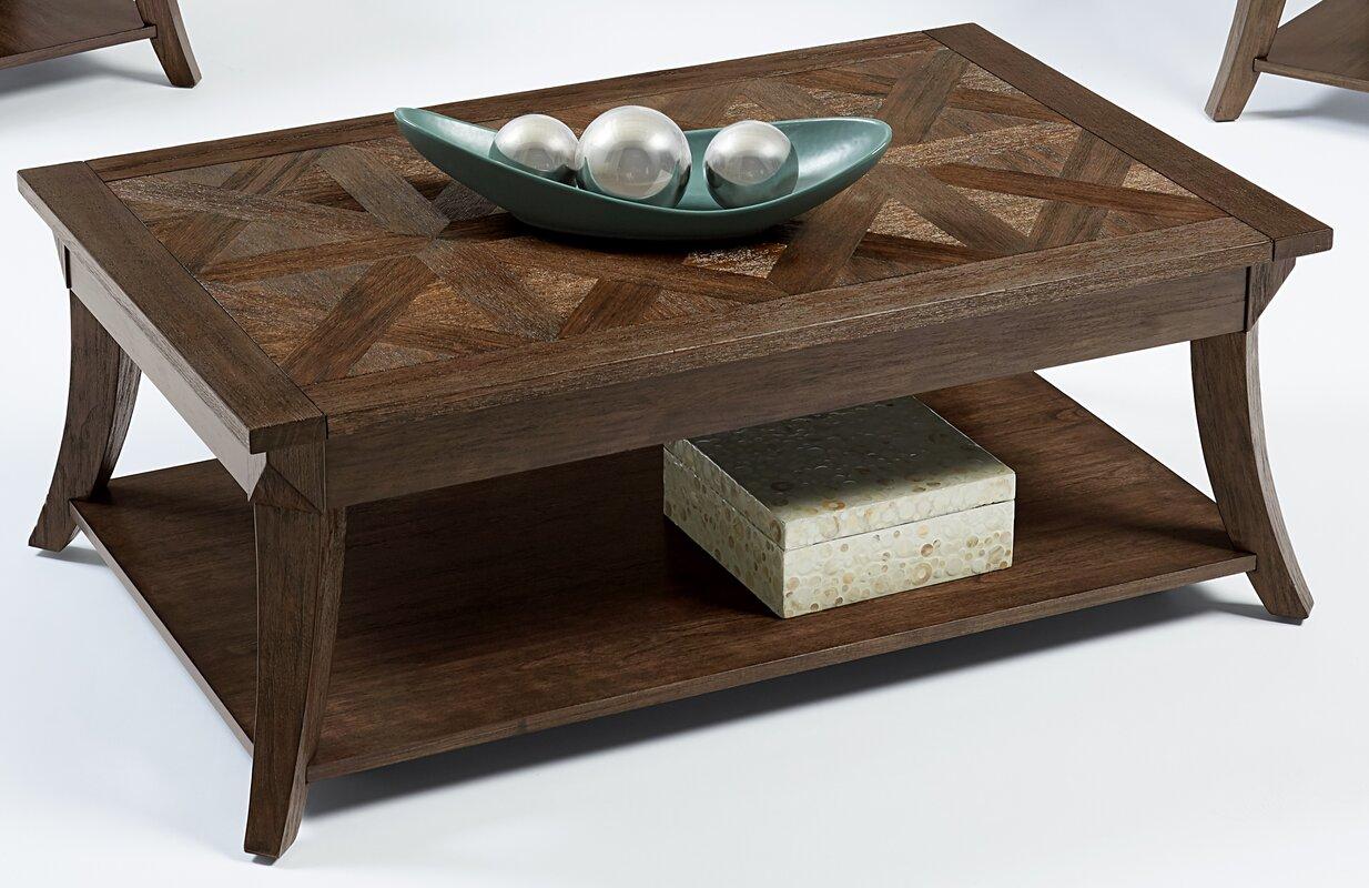 Red barrel studio turtle mountain coffee table wayfair turtle mountain coffee table geotapseo Gallery