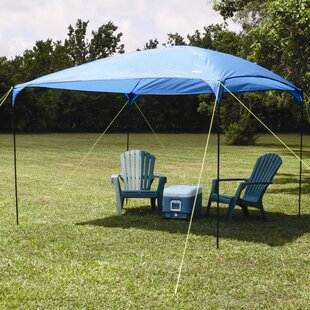 Dining 9 Ft. W x 9 Ft. D Steel Pop-Up Canopy by Texsport