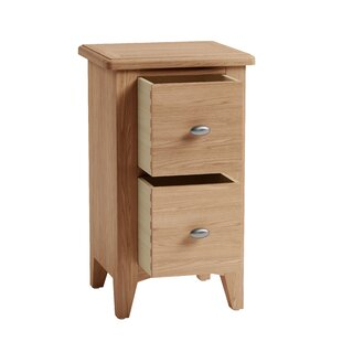 Apolline 2 Drawer Bedside Table By August Grove