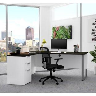 Kadian Modern Reversible L-Shape Corner Desk