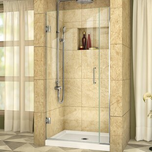Unidoor Plus 32 x 72 Hinged Frameless Shower Door with Clearmax? Technology by DreamLine