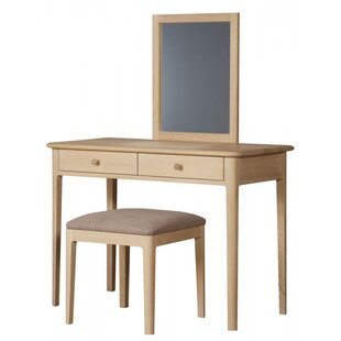 Aspatria Upholstered Dressing Table Stool By Natur Pur