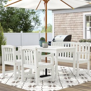 Hatten 4 Piece Dining Set by Sol 72 Outdoor