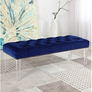 House of Hampton Stockbridge Upholstered Bedroom Bench