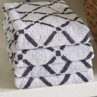 Luxurious Diamonds 6 Piece 100% Cotton Towel Set