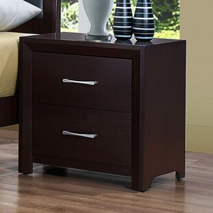 Edina 2 Drawer Nightstand