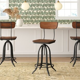 Super Fennimore Adjustable Height Swivel Bar Stool Cjindustries Chair Design For Home Cjindustriesco