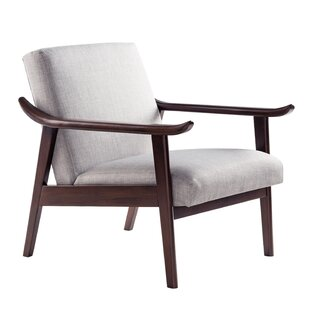 Melita Upholstered Arm Chair by World Menagerie