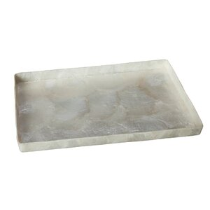 Kealy Capiz Rectangular Tray