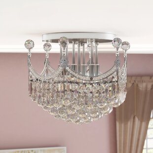 Kasha 6-Light Semi Flush Mount by Willa Arlo Interiors