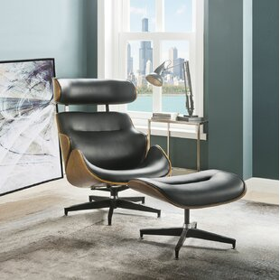 Great choice Cheryle 2 Piece Modern Swivel Lounge Chair and Ottoman by Corrigan Studio Reviews (2019) & Buyer's Guide