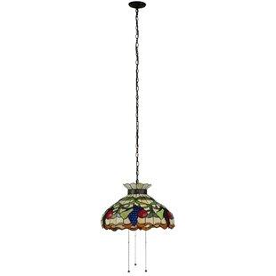 Meyda Tiffany Fruit 3-Light Bowl Pendant