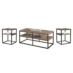Forteau 3 Piece Coffee Table Set