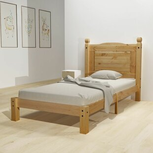 Balceta European Single (90 X 200cm) Bed Frame By Brambly Cottage