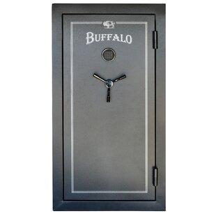 Buffalo Tools 32 Rifle Capacity Gun Safe with Door Organizer