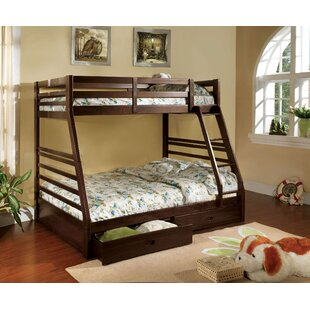 Price Check Youcef Twin Over Full Bunk Bed with Drawers By Harriet Bee