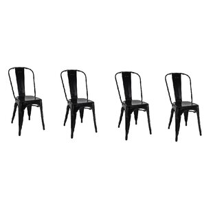 Yashvi Dining Armless Chair (Set of 4) by..