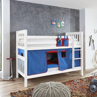 Florus European Single Bunk Bed With Curtain And Pocket By Zoomie Kids
