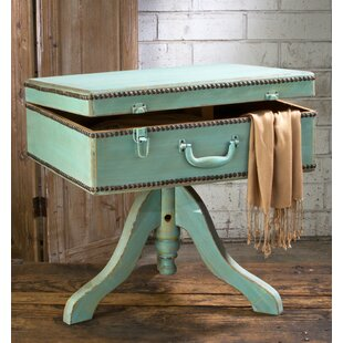 Best Reviews Suitcase End Table By Tripar