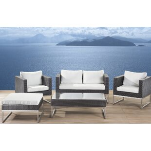 Casto 5 Seater Rattan Sofa Set By Sol 72 Outdoor