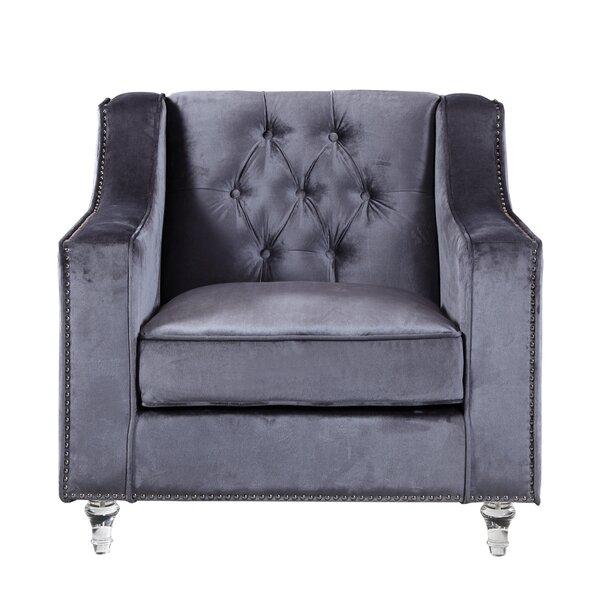Silver Nailhead Chair | Wayfair
