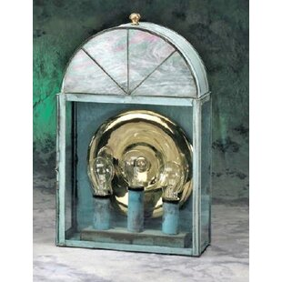 Inexpensive Elica 3-Light Outdoor Wall Lantern By Darby Home Co