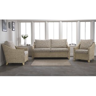 Cavaillon 3 Piece Conservatory Sofa Set By August Grove