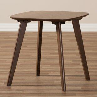 Brokaw Mid-Century Modern Wood End Table