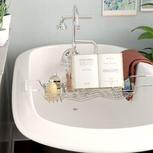 Best Choices Stainless Steel Bath Caddy ByRebrilliant