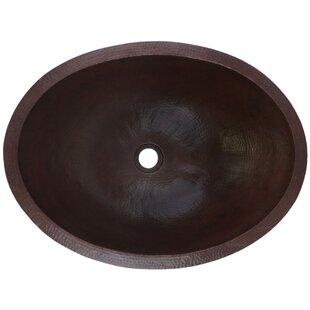 Comparison Large Metal Oval Drop-In Bathroom Sink By Linkasink