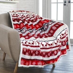 Plush Pattern Blanket Wayfair