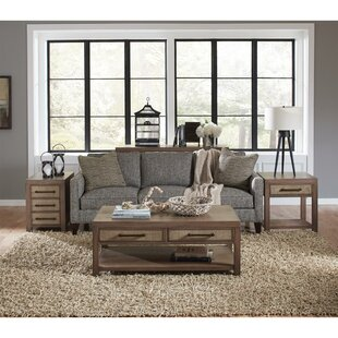 High-End Fairview 3 Piece Coffee Table Set ByLoon Peak