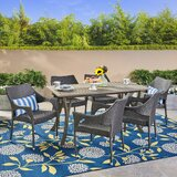 Lincolnwood 7 Piece Dining Set