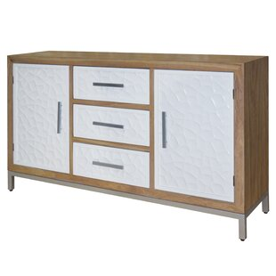 Holloway Flagstone Sideboard by Rosecliff Heights