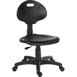Pro Low-Back Desk Chair By Symple Stuff