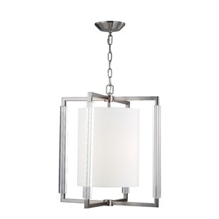 Corrigan Studio Bromley 3-Light Square/Rectangle Chandelier