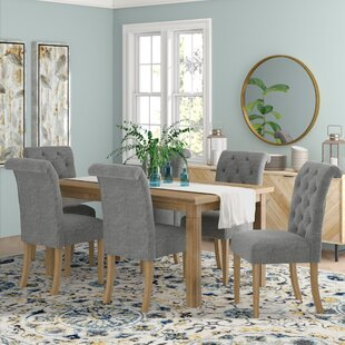 Rumi Solid Wood 7 Piece Dining Set