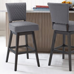 Kite 31 Swivel Bar Stool by Red Barrel Studio Looking fort