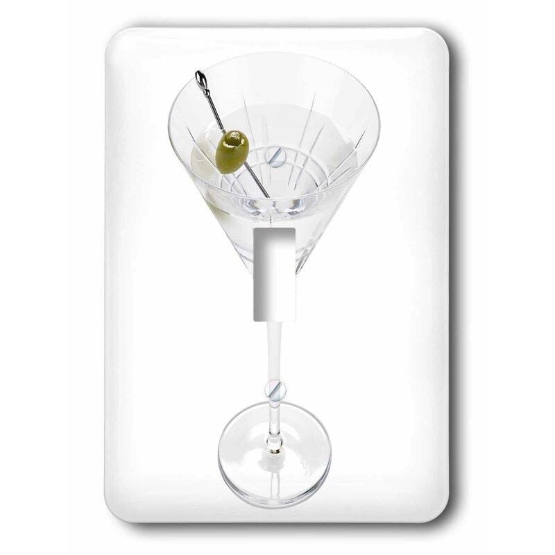3drose Martini 1 Gang Toggle Light Switch Wall Plate Wayfair